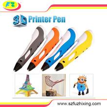 Причудливые искусства инструмент 3D печати Pen 3D рисования Pen 3D Printer Pen