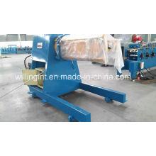 Dérouleur hydraulique de 5 tonnes avec wagon à bobines pour machine de formage à froid