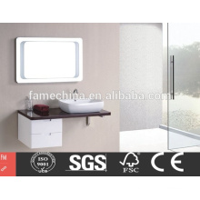 China Factory Directly Provide Europe design white bathroom corner cabinet