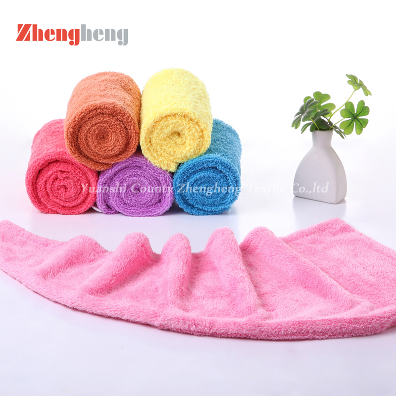 Hair Drying Coral Fleece Towel (1)