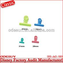 Disney factory audit clear plastic paper clip143941