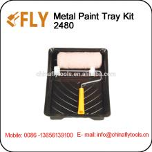 Plastic Paint Tray Kit roller brush