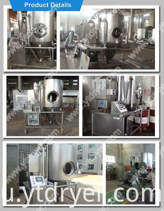spray drying