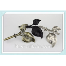 Modern Leaf Finial Curtain Tieback,Metal Curtain Tieback Tassel
