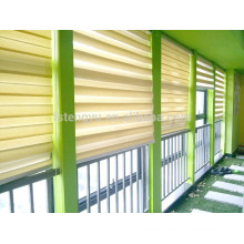Automatic Roller Blinds System Double Layer Zebra Blind System