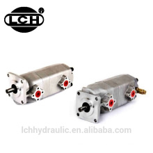 pompe hydraulique à double engrenage petite / pompe tandem