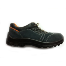 Black Cow Suede Leather Safety Shoes (TX1)