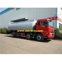 4000 Gallons 6x2 Corrosive Liquid Tanker Trucks