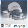 1050 Discos de aluminio de calidad de embutición profunda para utensilios
