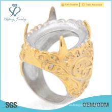 Venta al por mayor indonesia anillos de diseño para el compromiso de los hombres de venta caliente