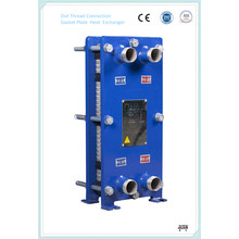 316L Stainless Steel Plate Heat Exchanger for Bear, Beverage, Milk Drinking Pasteurization
