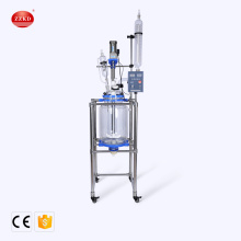 New style laboratory glass jacketed stirred tank reactor