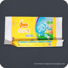 PE Plastic Disposable Printed Personal Care Packaging Bag