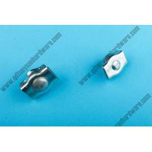 Clip de câble métallique simplex galvanisé