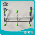 Iron Wire Over Door Hook With Green Beads
