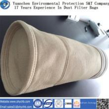 Bolso de colector de polvo del bolso de filtro de aire de Nomex HEPA para la industria