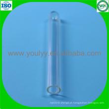 Tubo de ensaio de vidro de 6mm 50mm