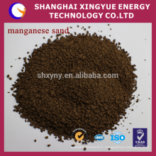 Fournisseur de porcelaine de filtre de sable de minerai de manganèse de 25-50%