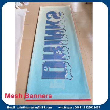 9 * 9 Full Color Pvc Mesh Banner Printing