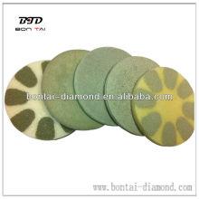 diamond sponge polishing disc dry use for concrete