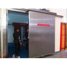Раздвижная дверь для замороженной холодной комнаты с покрытием