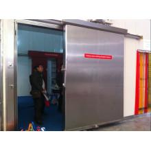 Portas deslizantes tipo e porta de acordeão de aço inoxidável porta Material