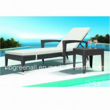 Outdoor Rattan elegante vime Chaise Lounge