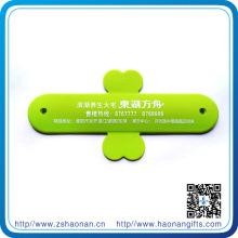 Support de téléphone de couleur brillante faite sur commande avec le logo de bande pour l'acoustique de téléphone portable