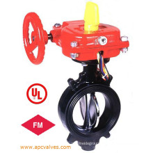 UL/FM, Ulc Grooved Type Butterfly Valve