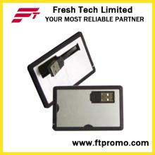 Kundenspezifischer Kreditkarten-Art USB-Blitz-Antrieb (D602)