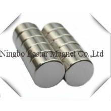 High Quality Servo Motor Neodymium Cylinder Magnet