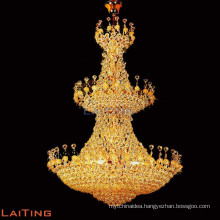 Empire chandelier crystals pendant light made in China 6086