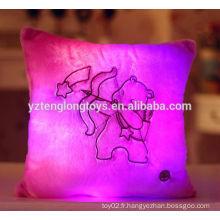 LED Zodiac oreiller oreiller en peluche doux Coussin d'oreiller Zodiac