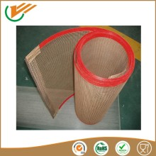 teflon coating insulation materials bull nose or metal claps Buckle transmission conveyor belts