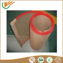 Caucho cinta transportadora teflón abierto malla cinturón malla cinturón de malla