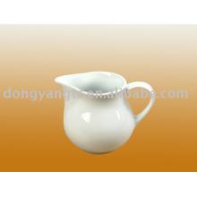 olla de leche de porcelana