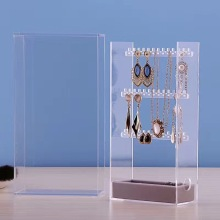 Personalised Acrylic Jewelry Stand for Necklaces