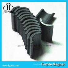 Aimants de segment d'arc en céramique pour le moteur