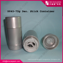 Round Shape ABS Plastic Cosmetic Packaging Containers And 30g 50g 75g circular deoderant containers