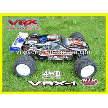 Carro RC 1/8scale, 4WD carro elétrico, carro modelo sem escova, carro do brinquedo RTR, VRX corridas de carro.