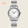 Correa de cuero de alta calidad reloj de pulsera Elegance reloj de cuarzo analógico Relogiof 72355