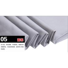 Tela cruzada del algodón poliéster gris en general ropa de trabajo