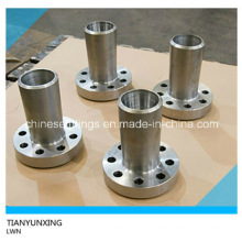 Forged Lwn Carbon Steel Long Welding Neck Flange