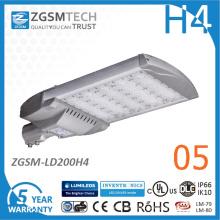 2016 novo alta potência Motion Sensor 200W LED Streetlight