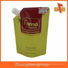 Hochwertiger Aluminium-Laminat-Gesichtsmaske Auslaufbeutel für flüssige Verpackung