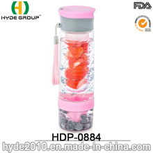Wholesale 800ML Plastic Fruit Infusion Bottle, Tritan BPA Free Fruit Infusion Bottle (HDP-0884)
