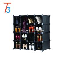 Черный складной ПП обувной шкаф для спальни, подвесные шкафы, детёныш, органайзер