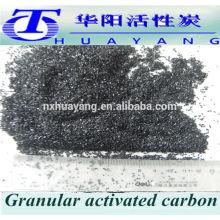 Ceniza menos 5% 850 mg / g de yodo Valor de carbón activado a granel