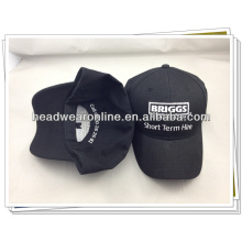 Haute qualité personnalisée 5 panneaux en broderie chapeau & cap Guangdong cap factory
