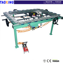 factory design and made for direct selling high precision TX- LW1115mesh stretching machine
